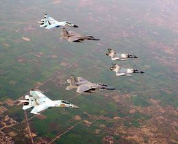 v-formation airplanes