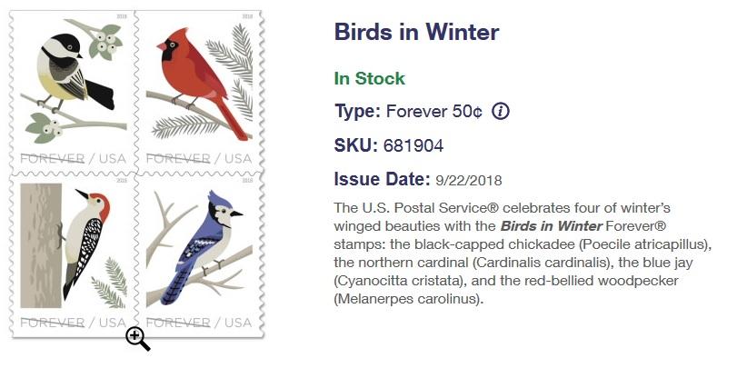 bird stamps
